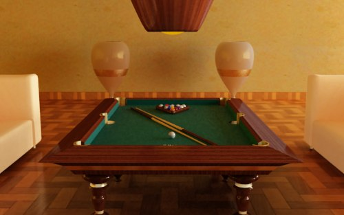 Searched D Models For Pool Table Bolero Billiards Billboard - High end pool table