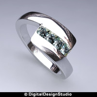 ring diamond 153 3d obj