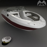 sea 240 sundeck 3d 3ds