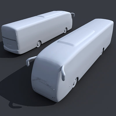 bus 3d model - Bus 6... by Gandoza