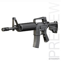 Colt M4 Commando Assault rifle