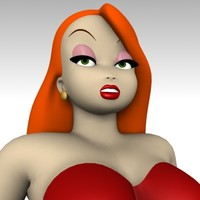 3d model jessica rabbit movie
