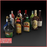Liquer Bottles Collection