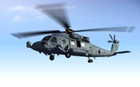 sikorsky hh-60 rescue hawk 3d model