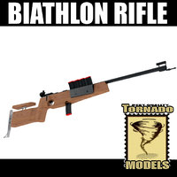 3d max biathlon rifle
