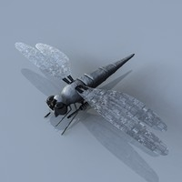 3ds max robotic dragonfly