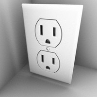 maya wall socket
