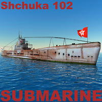 submarine shchuka 102 3ds
