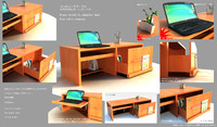 table versatile japanes style fbx
