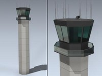 max airport tower