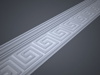 decorative lath 3d model