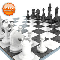 3ds max chessboard black white