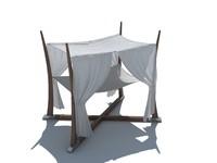 3d model garden canopy