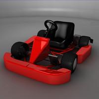 3d cart car model