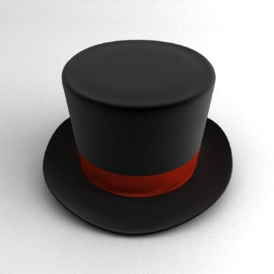 Magician Hat Magician hat and wand