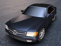 merc 3d model