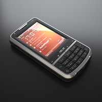 asus p526 cellphone 3d model