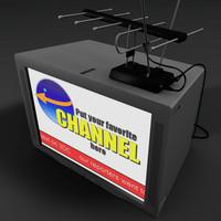 tv set 3d model