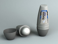 3d model anti deodorant