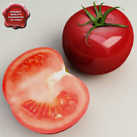 tomato modelled 3d 3ds