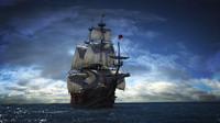 3d model histori ship