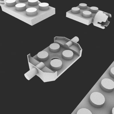 3d model lego brics toys - Lego Cubes Collection... by MilosJakubec