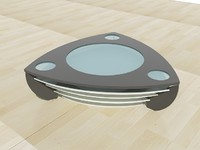 3d model contemporary coffee table