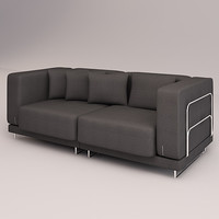 3d model tylosand sofa double