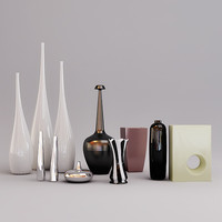 collection of vases and flowerpots