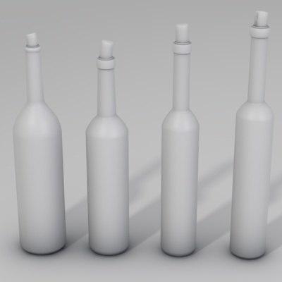 3ds Max Bottle 3ds Max Bottle