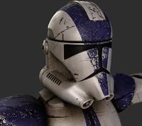 3d clone trooper