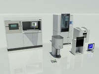 3d model dental lab equipment m