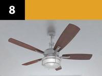 3d model ceiling fan 8