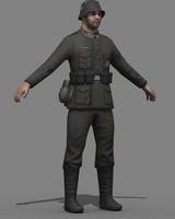 3d ww2 german soldier games
