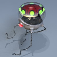 jellyfish robot 3d model