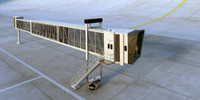 flexible jetway - complete to animate