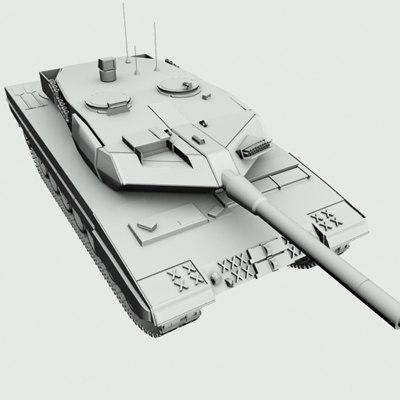 Leopard Tank - Clean Model.obj