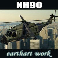 european helicopter nh90 3d model
