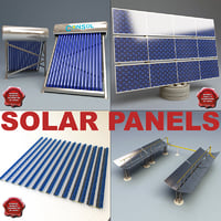 Solar panels collection