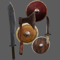 Arena Weapons and Shields