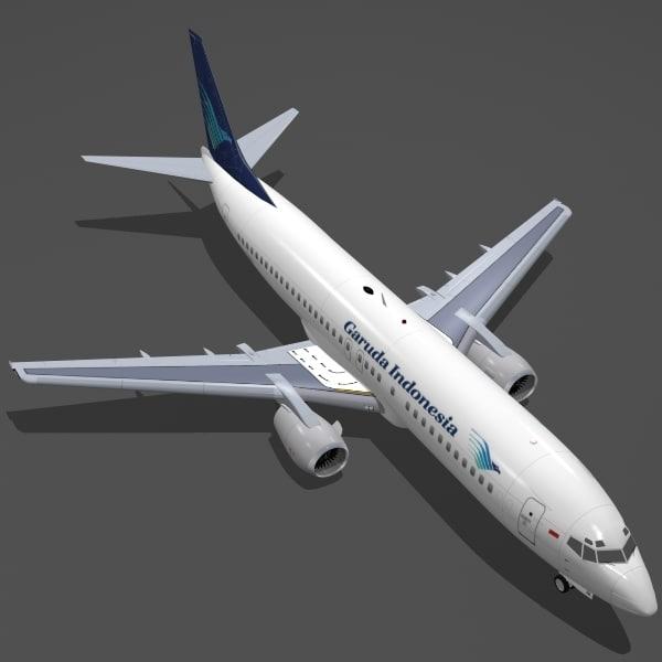 B 737-400 Garuda Indonesia