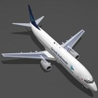 max b 737-400 garuda indonesia