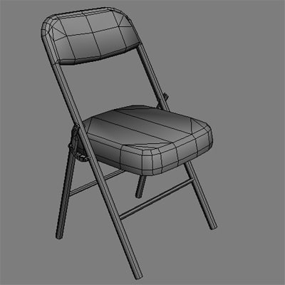 folding office chair max - Folding Office Chair... by harleyzhao