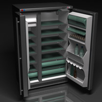 3ds max fridge