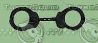 hand handcuff 3d model