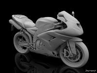 3d model ninja superbike