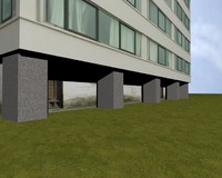 realistic building 3d 3ds