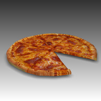 3ds max pizza cheese