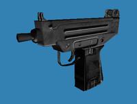 uzi games 3d model