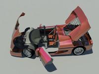 sport car f50 max